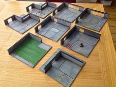 Rotatable modular gaming boards, from 5 Parsecs- Boarded! (via Bloglovin.com )