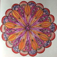 Creative Coloring Mandalas: Valentina Harper: By Katherine Asch on Aug 18, 2015