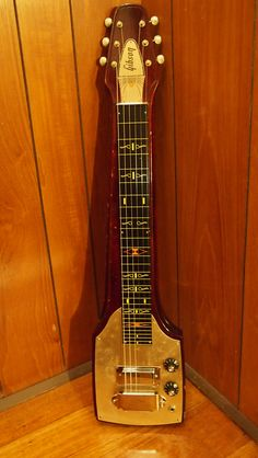 Gibson Century V4 1967. The model last lap steel made by Gibson in very limited numbers.