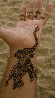 36+ Elephant Tattoo Trunk Up