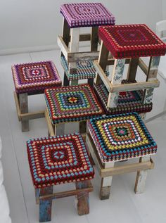 crochet covering