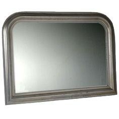 Heal's | Classic Silver Over Mantel Mirror - Ornate Mirrors - Mirrors - Accessories