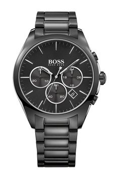 Men's Onyx Chronograph Bracelet Watch