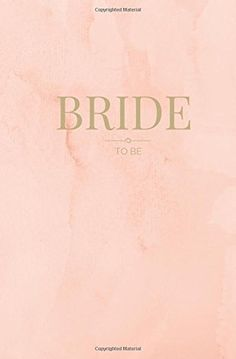 Bride To Be Small Pink  Gold Wedding Planning Notebook Bride To be Notebook Engagement Gift for Bride Wedding Shower Gift for Bride 80 Lined Pages Bridal Notebooks Volume 6 -- More details can be found by clicking on the image.