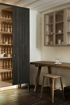 a lovely little corner of deVOL's new Sebastian Cox Kitchen display at Cotes Mill