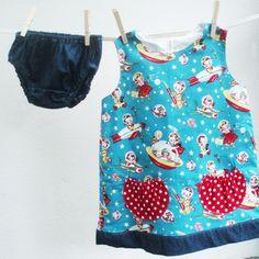retro baby dress