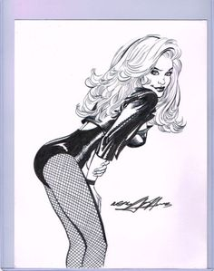 Black Canary Original Art Neal Adams Signed | eBay