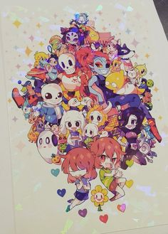 The most kawaii fanart of Undertale
