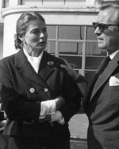 Ingrid Bergman with her husband Lars Schmidt