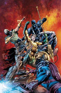 AQUAMAN #8 by Ivan Reis, Joe Prado, Rod Reis