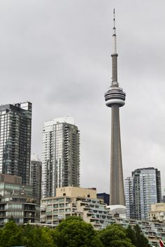 Toronto, Canada - Until 2010, when the Canton Tower was built in China, Toronto's CN tower, standing at just over 1,800 feet tall, was the world's tallest tower for 34 years. For those brave enough, the tower offers an opportunity to walk around its roof, tethered to to an overhead rail.
