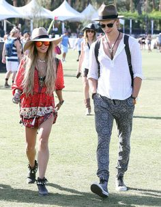 Coachella Music & Arts Festival 2014: Boho beauty Vanessa Hudgens with beau Austin Butler.