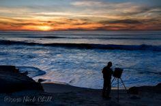 The Art of a Sunset ~ Windansea Beach, La Jolla, California
