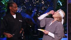 In Martha and Snoop's Potluck Dinner Party,, the Queen of Cuisine and the King of Kush come together to invite their celebrity friends over for a little potluck fun. Games, recipes and musical guests. It's guaranteed to have everyone buzzing. Martha Stewart and Snoop Dogg are teaming up together to throw a dinner party that will be the hottest ticket in town. Each will invite celebrity friends over for a half-baked evening of cocktails, cooking, conversation, and fun where nothing is ...