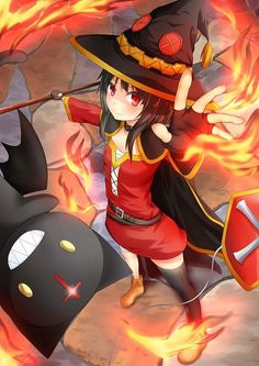 Megumin #anime #girl #witch