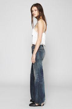 R13 Denim | The Jane Wide Leg Jean | MYCHAMELEON.COM.AU