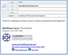 how to create an impressive email signature email signatures business emails and budgeting