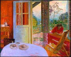 Pierre Bonnard (French, 1867-1947): Dining Room in the Country, 1913.