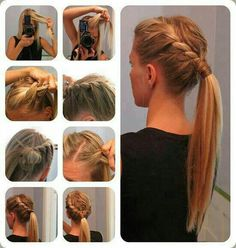 if only I had long hair....anyone who has the hair length for this should totally do it.