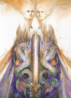 """""""We are one, after all, you and I. Together we suffer, together exist, and forever will recreate each other.""""  ~ Pierre Teilhard de Chardin   Artist: Helena Nelson-Reed"""