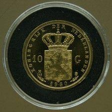 Nederland - Penning van 10 Gulden 1980 Beatrix - goud