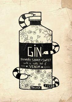 The Gin No.2 Art Print