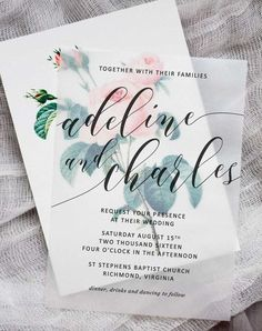 Pretty Image of Making Wedding Invitations Making Wedding Invitations Diy Floral Wedding Invitations Pipkin Paper Company Free Wedding Invitation Samples, Homemade Wedding Invitations, Wedding Invitation Paper, Diy Invitations, Wedding Paper, Wedding Stationery, Wedding Cards, Diy Wedding, Wedding Vows