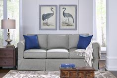 ARE YOU THINKING ABOUT DOWNSIZING? All you hear these days are the many downsizing to Smaller Homes, Condos, Full Time RV'ing and Tiny Houses. If you're looking for a Sofa, Small Sectional, Sleepers or Recliners to fit in that smaller space check out Simplicity Sofas. Furniture Designed for Small & Tight Spaces manufactured in High Point, NC Proudly made in the USA. Sofas are available in three sizes, sleepers in four sizes and sectionals as small as three pieces! They have a smaller foot…