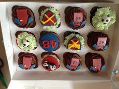West Ham FC inspired cupcakes!