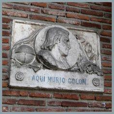 Cristóbal Colón murió en Valladolid en 1506, aunque en la actualidad se considera que el fallecimiento pudo producirse en la hospedería del Monasterio de San Francisco. En la actualidad los restos mortales se encuentran en Sevilla.
