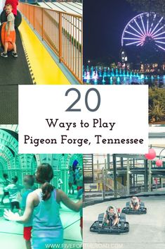 Family Activities for you family vacation in Pigeon Forge, Tennessee. Family Activities for you family vacation in Pigeon Forge, Visit Tennessee, Tennessee Vacation, Gatlinburg Tennessee, Family Vacation Destinations, Vacation Trips, Vacation Ideas, Travel Destinations, Vacation Quotes, Mini Vacation