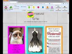 Pin4Ever Power Tools For Pinterest Pinterest Tutorial, Pinterest Pin, Wedding Shower Signs, Creative Web Design, Family Organizer, Beauty Photos, Vinyl Wall Art, Love Photos, Cool Tools