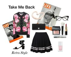 Retro Style by cmrno on Polyvore featuring polyvore, fashion, style, Dolce&Gabbana, Christian Dior, Hiho Silver, Bobbi Brown Cosmetics, The Hand & Foot Spa and clothing