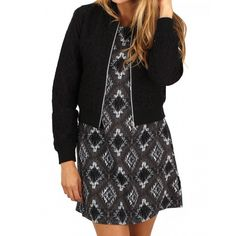 Black Laced Jacket - DEX - Outerwear - Women