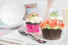 Cupcakes decorados con boquillas rusas