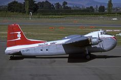 ZK-CPT (Safe Air) - Bristol 170 Mk. 31E Freighter - Safe Air in 1985 c/n 13126 - built in 1953 for Iberia - operated by Safe Air between 1966 and 1987 - preserved Omaka, New Zealand (Marlborough Aero Club) | Flickr photosharing - Reinhard Zinabold   scanned from Kodachrome-slide| Flickr - Photo Sharing!