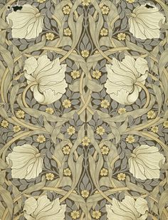 PIMPERNEL #wallpaper design by William Morris, England, 19th century | Shop now on surfaceview.co.uk