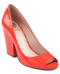 Vince Camuto Shoes, Berit Block Pumps at Macy's for $61.99