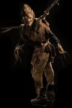 Frank, Scarecrow, #FaceOff Season 5 - Trick or Treat. Photo credit: Brett-Patrick Jenkins