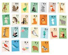Alphabetkarten - vierundfuenfzig illustration