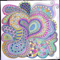 """Terry's Tangles - My Zentangle Inspired Art at Flickr. I started tangling this year as a means to bring some peace to my """"Tangled Mind."""" Thank you so much. :)"""