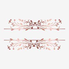 Logos Vintage, Lip Logo, Wedding Frames, Wedding Clip, Rose Gold Frame, Vintage Frames, Floral Logo, Fashion Wall Art, Frame Clipart