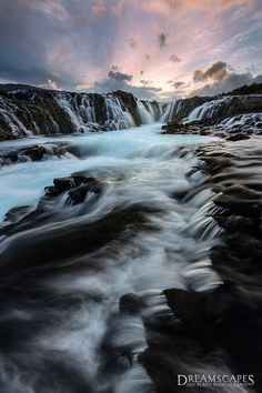 Bruarfoss Falls ~ Iceland