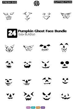 Kids Choice Award, Choice Awards, Stencils For Wood Signs, Face Cut, Halloween Pumpkins, Halloween Decorations, Ghost Faces, Art File, Silhouette Design