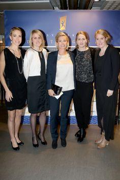 Svenska fotbollslaget damer Idrottsgalan STHLM Gift Lounge Elin Magnusson, Marie Hammarström, Lili Persson, Lisa Dahlqvist och Kristin Hammarström