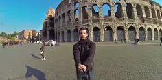 1 video di selfie in giro per il mondo
