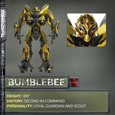 Bumblebee in Transformers: The Last Knight