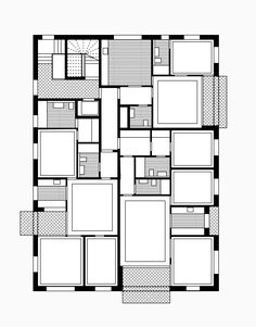 Architecture Plan, Residential Architecture, Floor Plan Layout, Loft Interiors, Plan Drawing, Apartment Plans, Room Planning, House Layouts, Planer