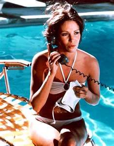 Jaclyn Smith in Charlie's Angels. Typical 1970s bikini.