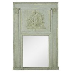 Check out this item at One Kings Lane! 18th-C. Louis XVI Trumeau Mirror